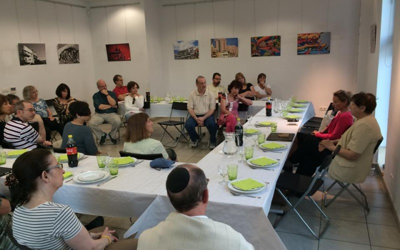 Meeting with the Krakow Jewish Community