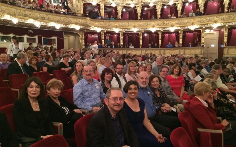 A night at the opera in Prague