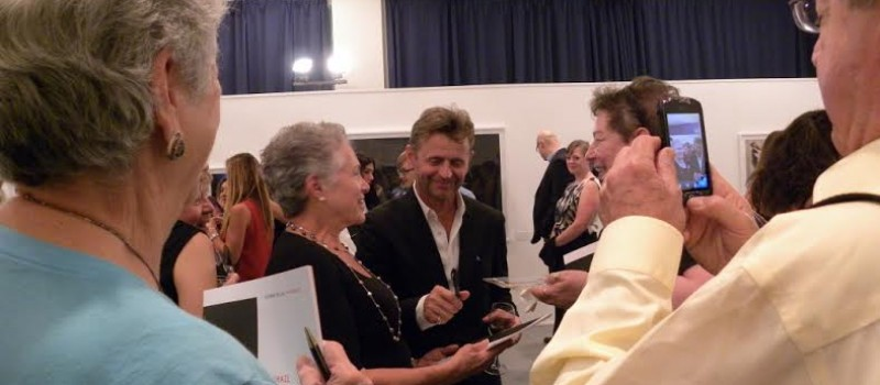 Mikhail Baryshnikov at group reception