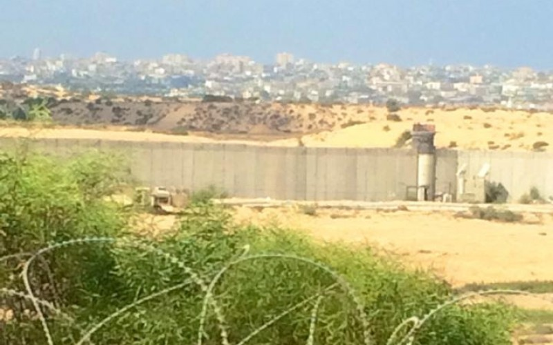 A view from a moshav into the Gaza Strip